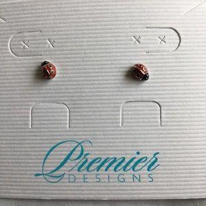 Lady Bug Earrings Premier Designs